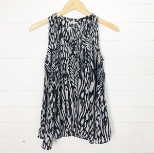 Anthropologie Leifsdottir 100% Silk Tank Size 2